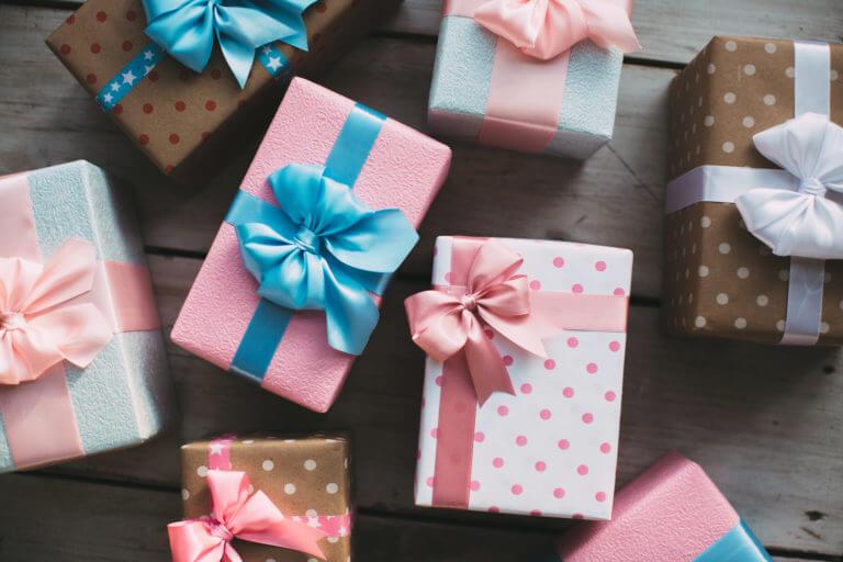 Les cadeaux du salon